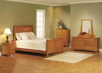 Photos Elizabeth Lockwood Solid Oak Shaker Bedroom Set