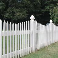 Picket Fence Vinyl Over Dozen Styles