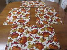 Place Mats Thanksgiving Table Linens Placemats