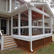 Planning Ideas Good Porch Deck Screening Steps