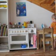 Play Kitchen Under Stairs