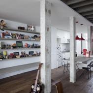 Polished Concrete Apartment Brazil Wooden Floor