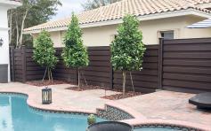 Poolside Retreat Trex Composite Fencing Fds Distributors