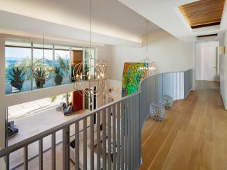 Post Modern Contemporary Oceanfront Mansion Santa