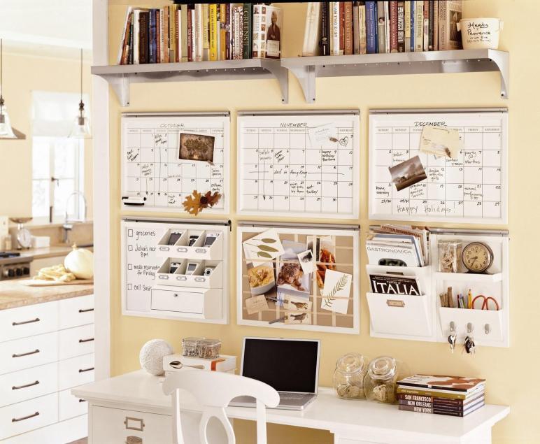 Pottery Barn Organization Center Ideas Desk Ever After