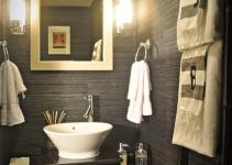 Powder Room Design Ideas 2017 Grasscloth