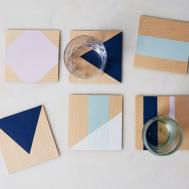Power Painter Tape Proven These Diy Coasters