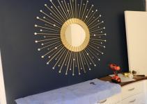 Pretty Sunburst Mirrors Wall Decorations Ideas
