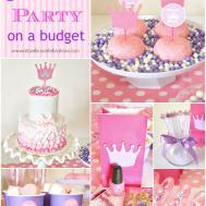 Princess Party Ideas Zebra Celebrations