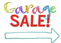Printable Garage Sale Signs Clipart Best