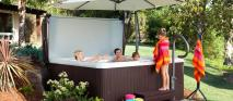 Pros Building Hot Tub Deck Backyard Design Ideas