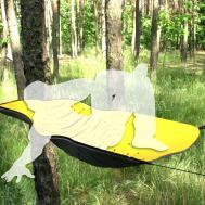 Prototypes Hanging Tent Rolled Foam Hammock