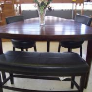 Pub Style Dining Room Sets Triangle Wooden