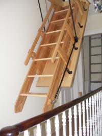 Pull Down Stairs Garage Decor23