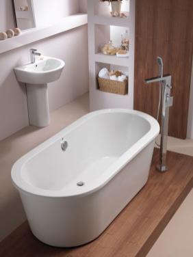 Pura Bathrooms Arco Freestanding Bath Bathroomand