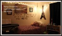 Put Fairy Lights Bedroom Waupacacom Wall