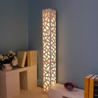 Qatar Floor Lamps Red