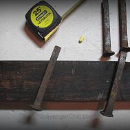 Railroad Spike Coat Rack Diy Scavenger Chic