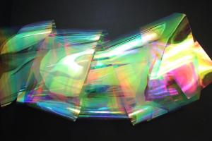 Rainbow Shine Iridescent Holographic Decor