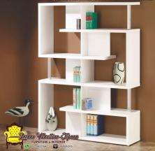 Rak Buku Model Partisi Lazaro Furniture