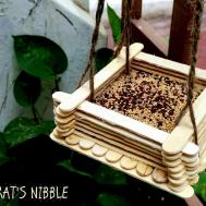 Rat Nibble Diy Bird Feeder Ice Cream Sticks