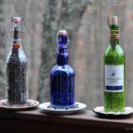 Rebecca Bird Gardens Blog Diy Wine Bottle Feeders