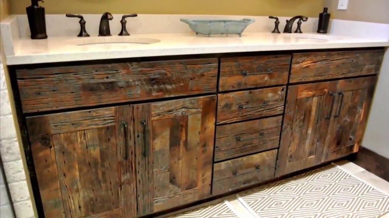 deluxe custom reclaimed wood bathrooms
