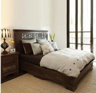 Reclaimed Wood Bedroom Furniture Dark