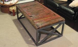 Reclaimed Wood Coffee Table Diy