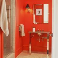 Red Bathroom Decor Ideas Tips