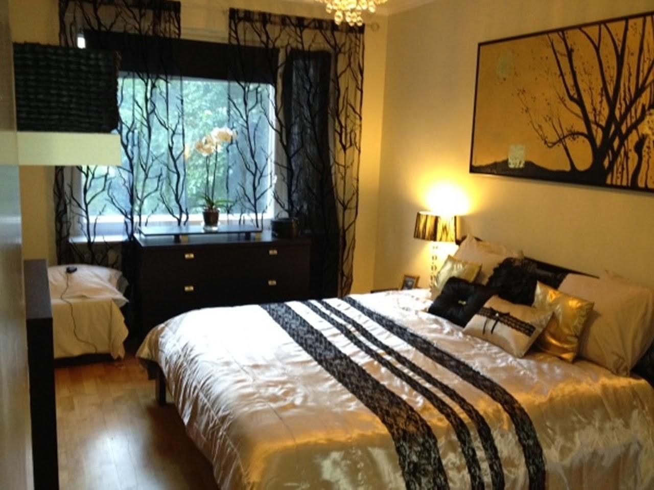 Red Black Gold Bedroom Ideas Decor Interalle Decoratorist 18218