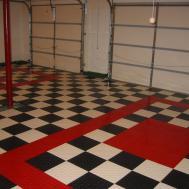 Red White Checkered Floor Tiles Gurus