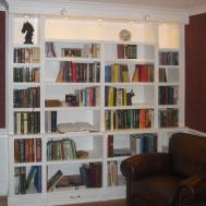 Remodelaholic Build Wall Built Desk Bookcase Cabinet
