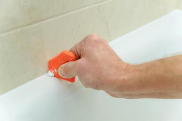 Removing Bathroom Caulk Remove