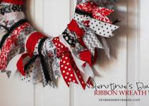 Ribbon Ties Wreath Tutorial Landee See