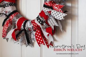 Ribbon Ties Wreath Tutorial Landee See
