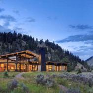 River Bank House Montana Balance Associates Architects
