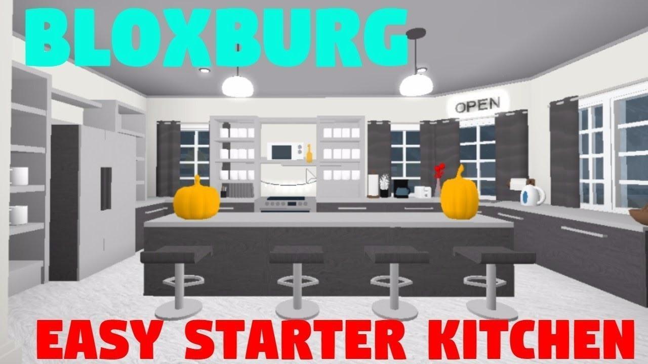Roblox Bloxburg Modern Kitchen Speedbuild 28songs - Decoratorist