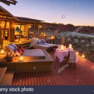 Romantic Dining Deck Area Mountain Suite Dunes