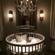 Round Baby Crib Kids Furniture Ideas