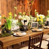Rustic Easter Decorations Wedding Table Ideas