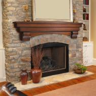 Rustic Fireplace Mantels Ideas Decorating
