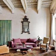 Rustic Living Room Axel Vervoordt Architectural