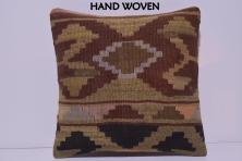 Rustic Throw Pillow Decolic Zippered