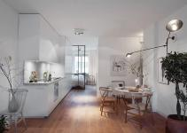 Scandinavian Design Cozy One Bedroom Apartment Stockholm