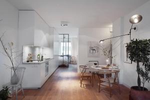 Scandinavian Design Cozy One Bedroom Apartment Stockholm