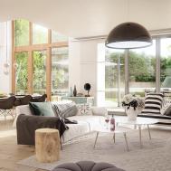 Scandinavian Style Interior Cgi Behance