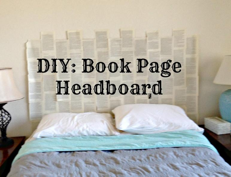 Scribbles Emily Diy Book Headboard
