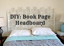 Scribbles Emily Diy Book Headboard