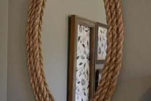Season Diy Rope Mirror